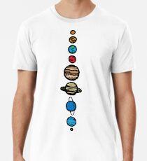 Planeten Farbe Männer Premium T-Shirts