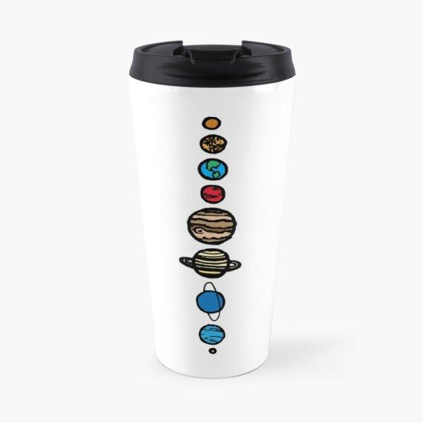 Planets Colour Travel Mug