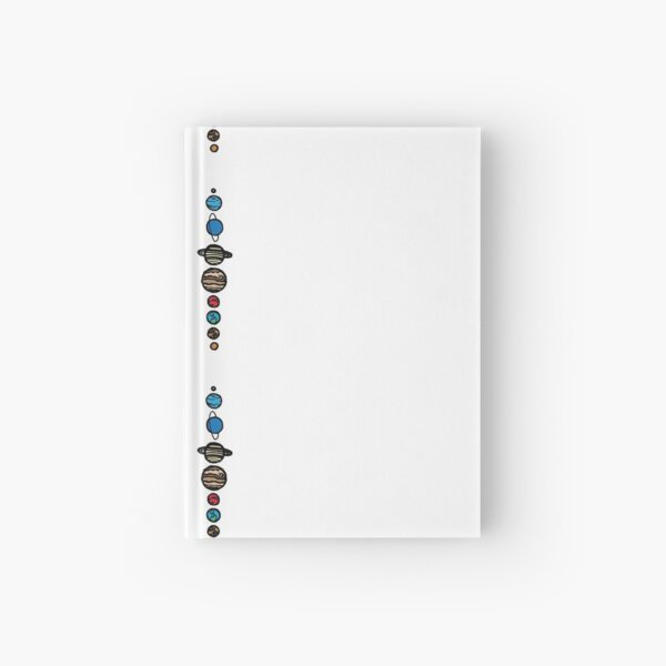 Planets Colour Hardcover Journal