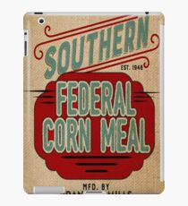 Burlap Grain Sack / Feed Sack / Vintage Style Graphics iPad Case/Skin