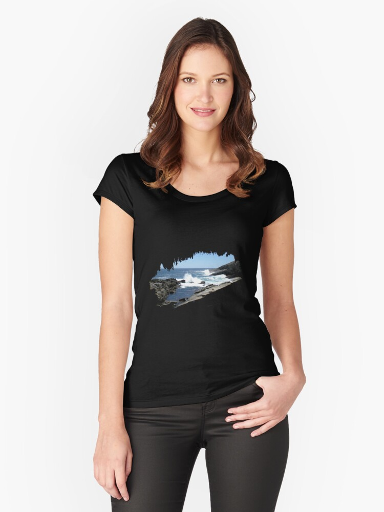 The Admiral's Arch Women's Fitted Scoop T-Shirt Front