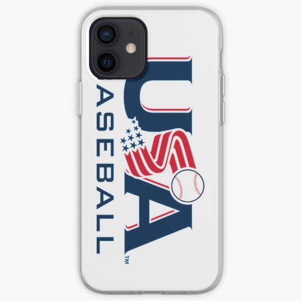 USA Baseball Logo  iPhone Soft Case