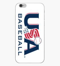 USA Baseball Logo V2 iPhone Case