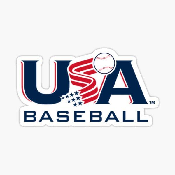 USA Baseball Logo  Sticker