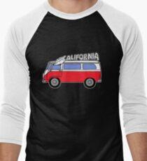 Smokey California Bus Men's Baseball ¾ T-Shirt
