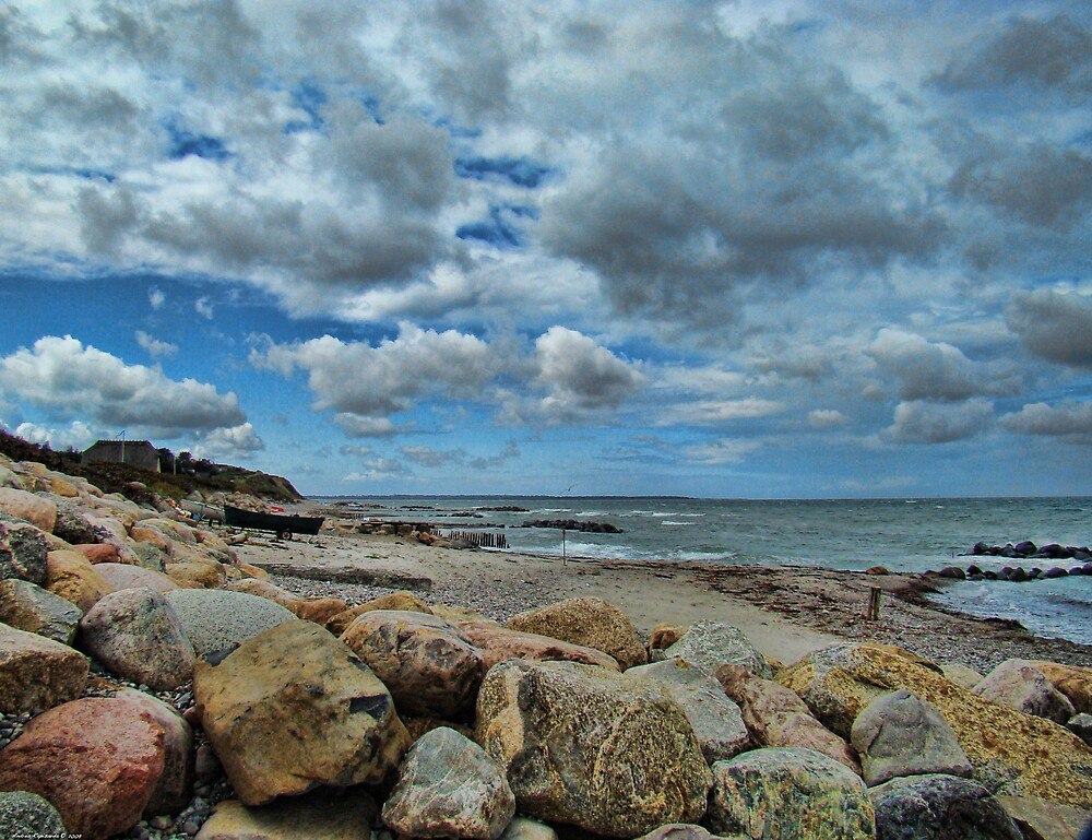 A cloudy and windy day in Denmark by Andrea Rapisarda