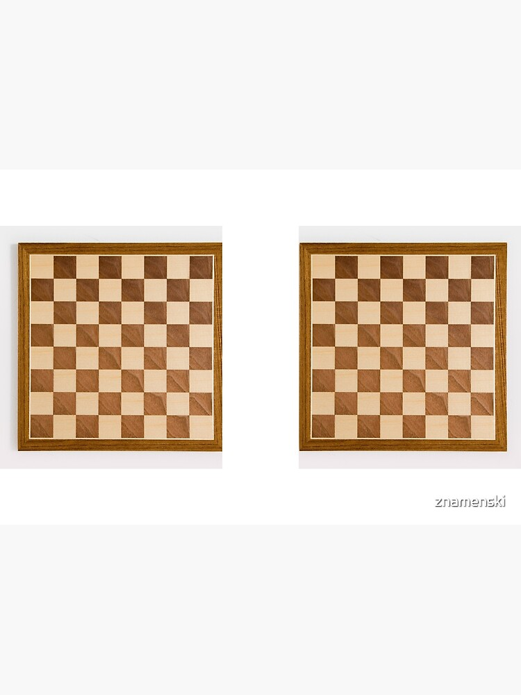 Chess board, playing chess, any convenient place by znamenski