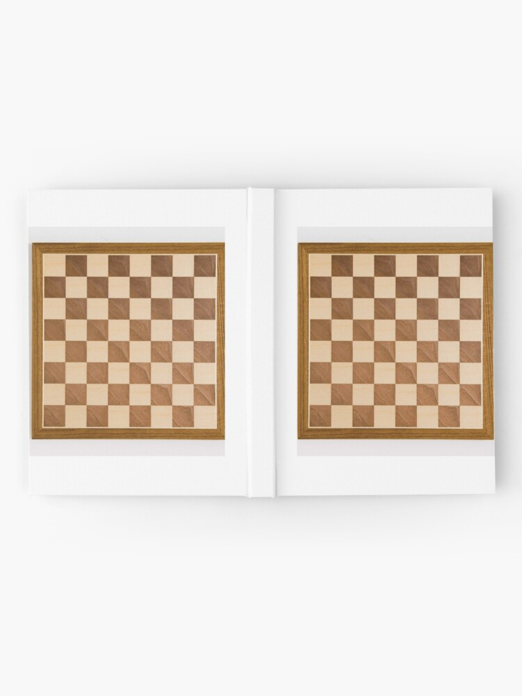 Alternate view of Chess board, playing chess, any convenient place Hardcover Journal