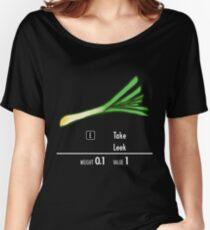 Take Leek Women's Relaxed Fit T-Shirt