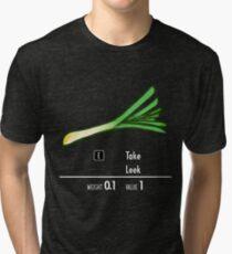 Take Leek Tri-blend T-Shirt
