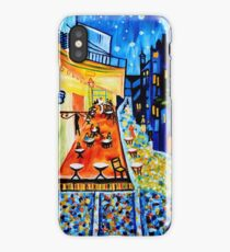 Cafe Terrace at Night - Van Gogh Tribute iPhone Case/Skin