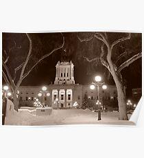Manitoba Leg In Winter Poster