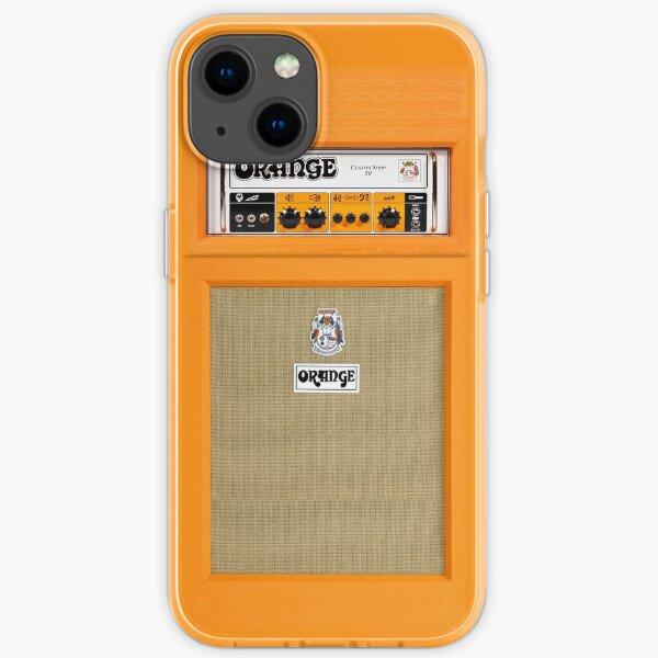 Orange Farbverstärker iPhone Flexible Hülle