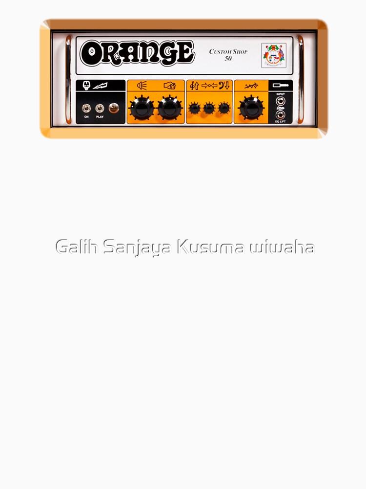 Amplificador de amplificador de color naranja de GalihArt