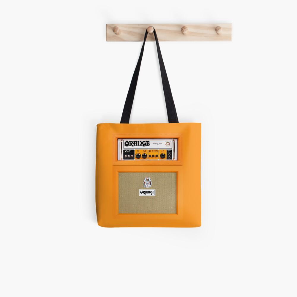 Amplificador de amplificador de color naranja Bolsa de tela