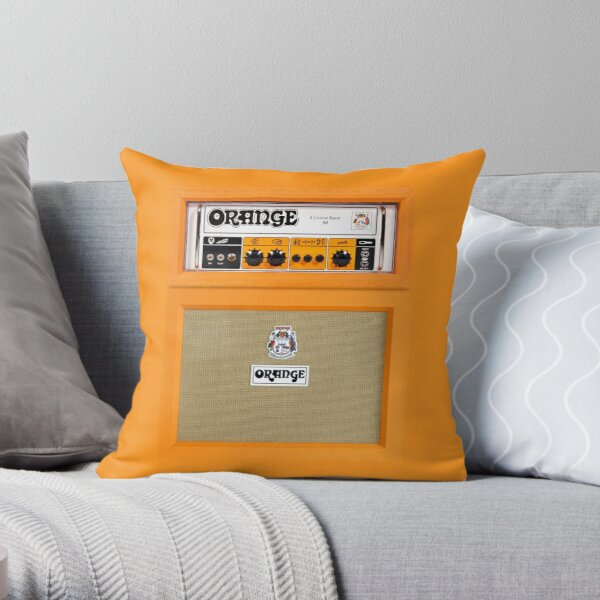 Heritage Kids Basketball Dec Pillow Orange