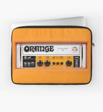 Orange color amp amplifier Laptop Sleeve