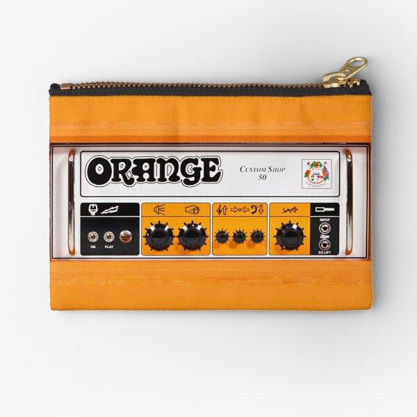 Orange color amp amplifier Zipper Pouch
