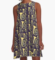 French horn A-Line Dress