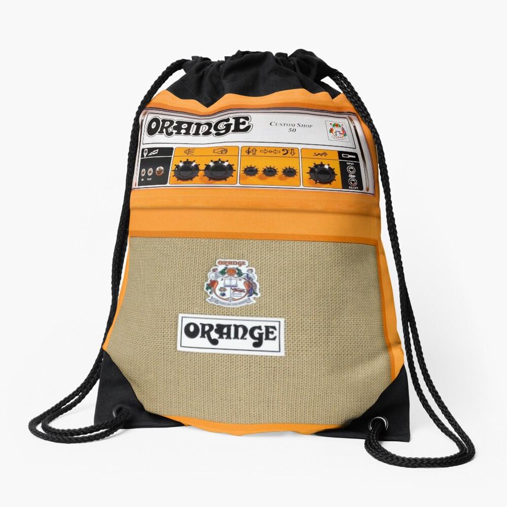 Amplificador de amplificador de color naranja Mochila de cuerdas