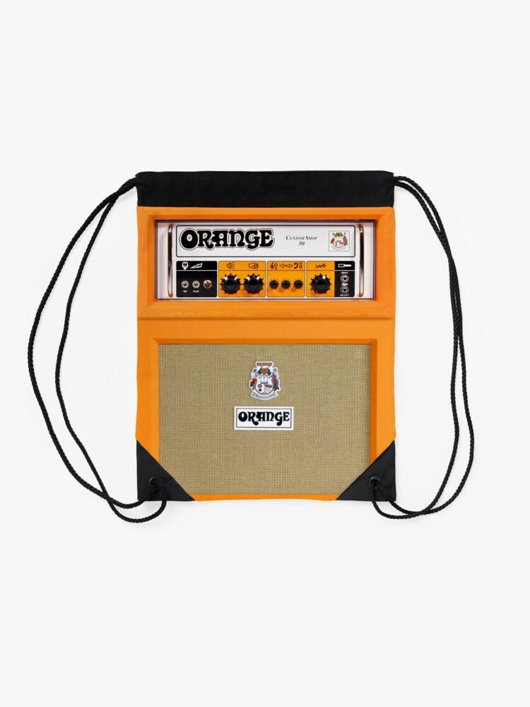 Vista alternativa de Mochila de cuerdas Amplificador de amplificador de color naranja
