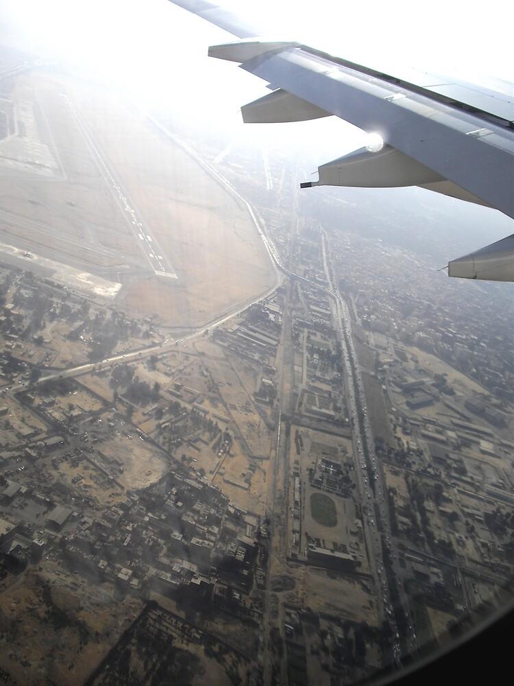 cairo from above by sami al-haj