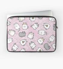 Cute Kawaii Cats Cat Pattern Laptop Sleeve