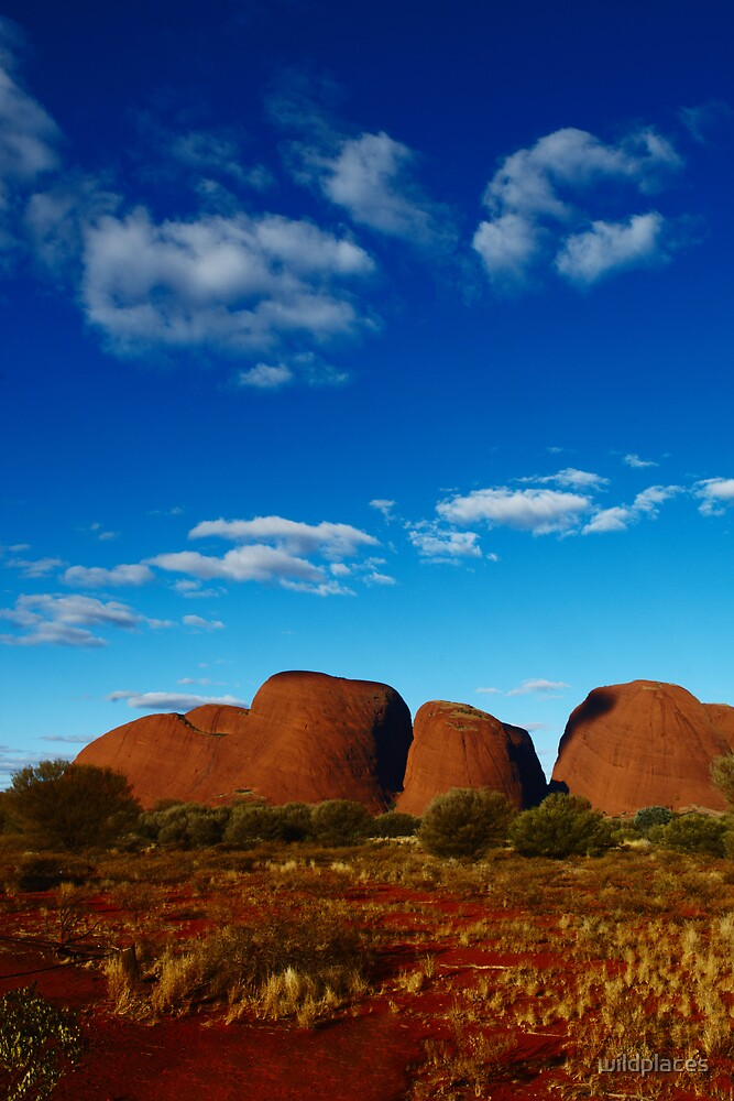 clouds over kata tjuta by wildplaces