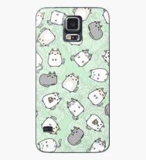 Nettes Kawaii Katzen-Katzen-Muster Hülle & Skin für Samsung Galaxy