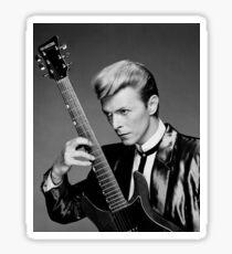 David Bowie Guitar Sticker