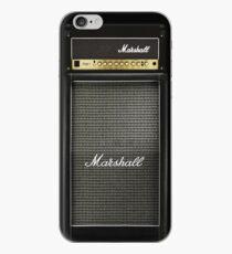 Vinilo o funda para iPhone Amplificador de amplificador de color negro y gris