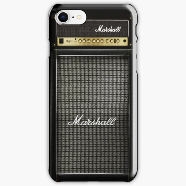 Black and gray color amp amplifier iPhone Snap Case