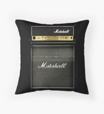 Black and gray color amp amplifier Floor Pillow