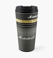 Black and gray color amp amplifier Travel Mug