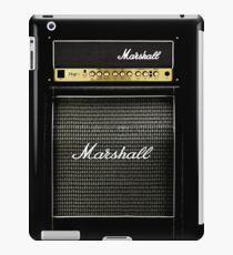 Black and gray color amp amplifier iPad Case/Skin
