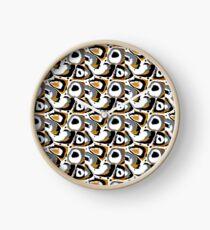 Golden Eye Clock
