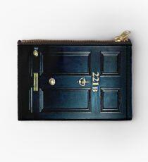 Haunted Blue Door with 221b number Studio Pouch