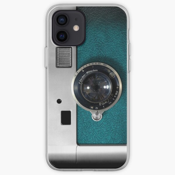 Blue camera with germany lens iPhone Soft Case