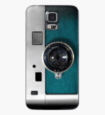 Blue camera with germany lens Case/Skin for Samsung Galaxy