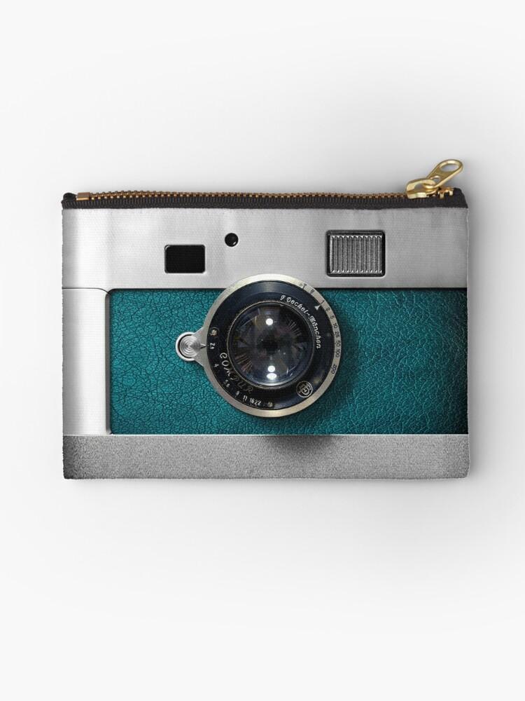 Blue camera with germany lens by Galih Sanjaya Kusuma wiwaha