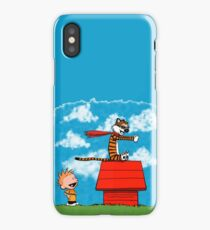 Case Phone Hobbes and Calvin iPhone Case/Skin