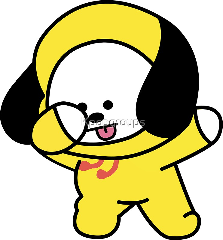 """""""Chimmy Dabbing - BTS/BT21"""" Stickers by Kpopgroups   Redbubble"""