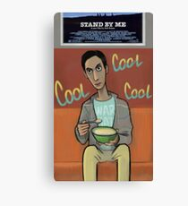 Abed watching tv Canvas Print
