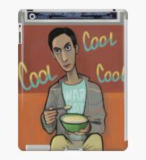 Abed watching tv iPad Case/Skin