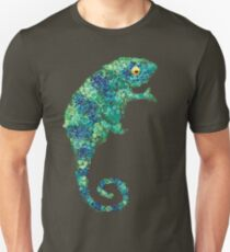 Chameleon Lizard Green T-Shirt