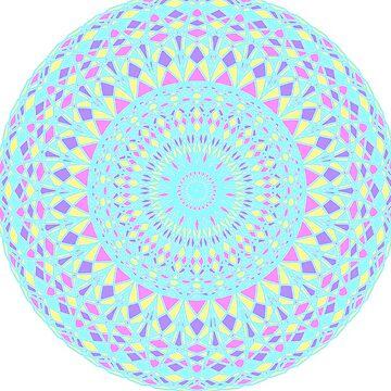 Mandala-Blue by Black-kat