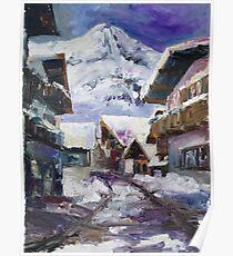 Schattberg, Austrian Alps Poster