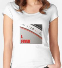 """""""L"""" Fever Women's Fitted Scoop T-Shirt"""