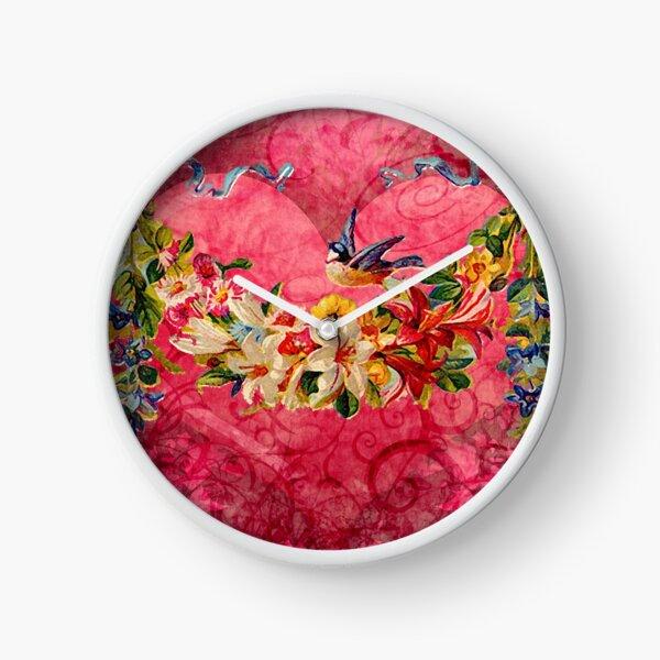 GARLAND FOR MY LOVE Clock