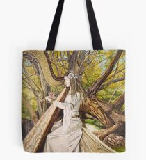 Harpist of the Valley Tote Bag